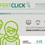 Imagen de la noticia «Expertclick», habilidades digitales para mayores de 55