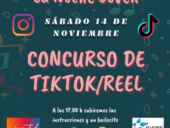 Imagen de la noticia Noche Joven: concurso on line Tik Tok/Reel