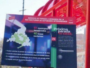 Imagen de la noticia Paradas a demanda en el transporte público nocturno de Alpedrete