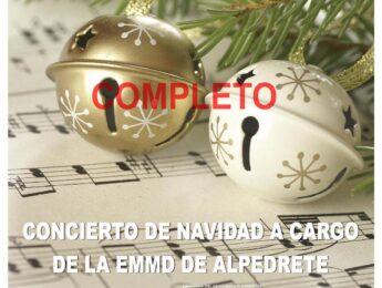 Imagen de la noticia Concierto navideño de la EMMD de Alpedrete