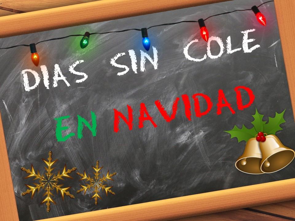Imagen de la noticia Días sin cole en Navidad