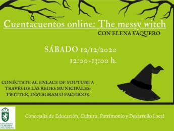 Imagen de la noticia Cuentacuentos online «The messy witch»
