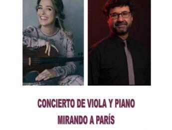 Imagen de la noticia Concierto de viola y piano a cargo de Ana Valero y Manuel Fernández