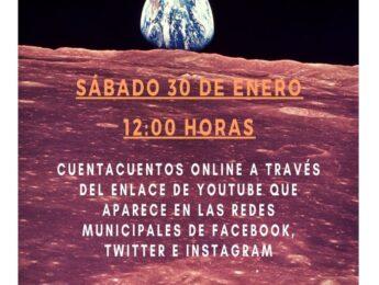 Imagen de la noticia Cuentacuentos online «Space adventure»