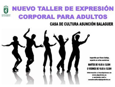 Imagen de la noticia Nuevo taller de expresión corporal para adultos