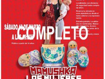 Imagen de la noticia Teatro «Mamushka. Las mujeres que habitan en mí»