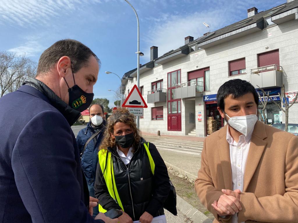 Imagen de la noticia La directora general de Carreteras visita Alpedrete