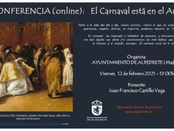 Imagen de la noticia «El carnaval está en el arte» conferencia on line
