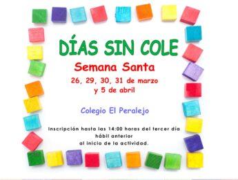 Imagen de la noticia Días Sin Cole en Semana Santa