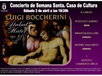 Imagen de la noticia Concierto de Semana Santa. Stabat Mater de Boccherini