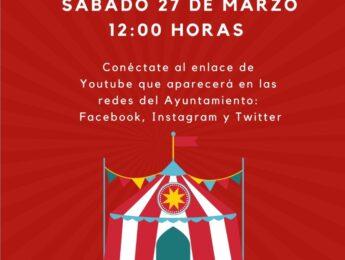 Imagen de la noticia Cuentacuentos en inglés online «A day at the circus»