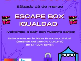 Imagen de la noticia Noche Joven: Escape box igualdad