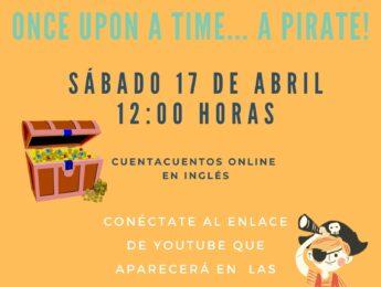 Imagen de la noticia Cuentacuentos on line en inglés: Once upon a time… A pirate!