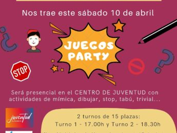 Imagen de la noticia Noche Joven: juegos party