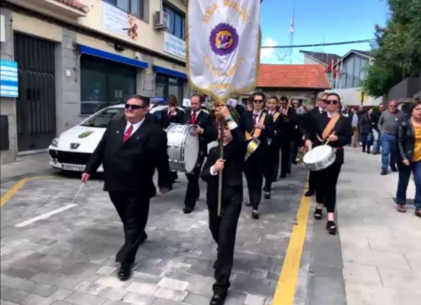 Imagen de la noticia La Banda Sinfónica de la EMMD de Alpedrete en Santa Quiteria