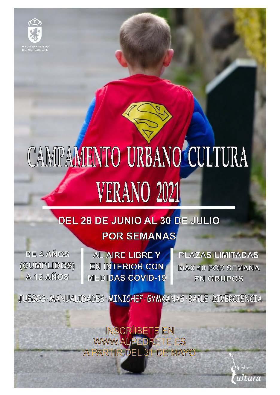 Imagen de la noticia Campamento urbano de Cultura. Verano 2021