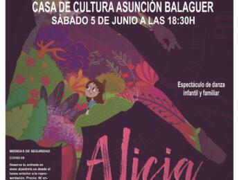 Imagen de la noticia Danza «Alicia en el País de las Maravillas» de CaraBdanza
