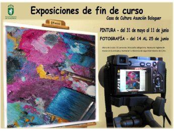 Imagen de la noticia Exposiciones de fin de curso. Casa de Cultura