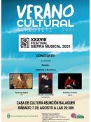 Imagen de la noticia XXXVIII FESTIVAL SIERRA MUSICAL 2021 – Concierto «LOS AFECTOS Pasión HOMENAJE A PIAZZOLLA»