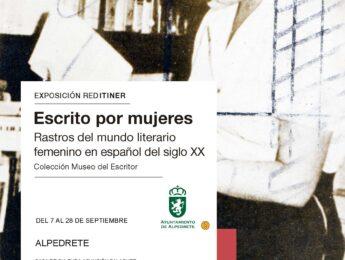 Imagen de la noticia Exposición «Escrito por mujeres. Rastros del mundo literario femenino en español del siglo XX»