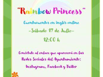 Imagen de la noticia Cuentacuentos online en inglés «Rainbow princess»