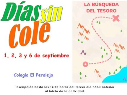 Imagen de la noticia Días sin Cole 1, 2, 3 y 6 de septiembre