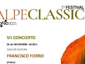 Imagen de la noticia Alpeclassic 2021: Concierto de clausura. Francisco Fierro
