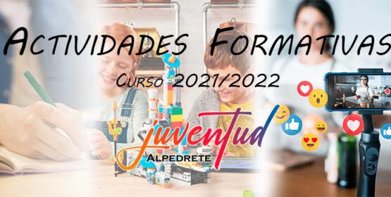 Imagen de la noticia Actividades formativas para los jóvenes de Alpedrete