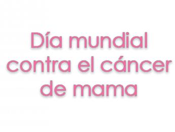 Imagen de la noticia Día mundial contra el cáncer de mama